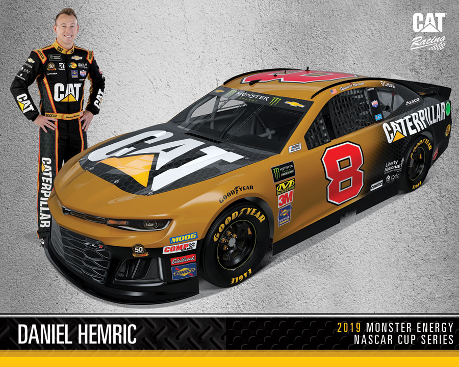 Caterpillar hero Card Front